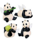 Flying Pandas Jade - Set of 4