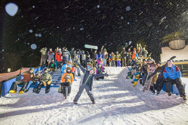 A wildly successful turnout at the Park Shark Rail Jam at Sugarloaf, February 4th, 2017