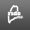RideME Die-cut Sticker