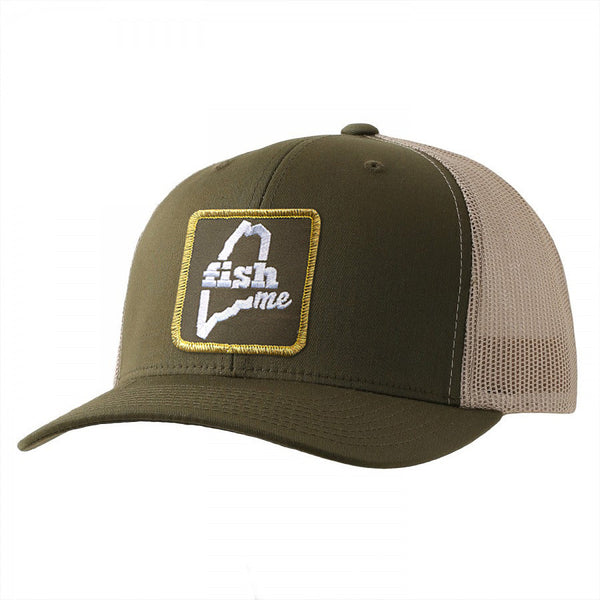 d73a2c741b1f5 FishME Patch Trucker Hat - LiveME