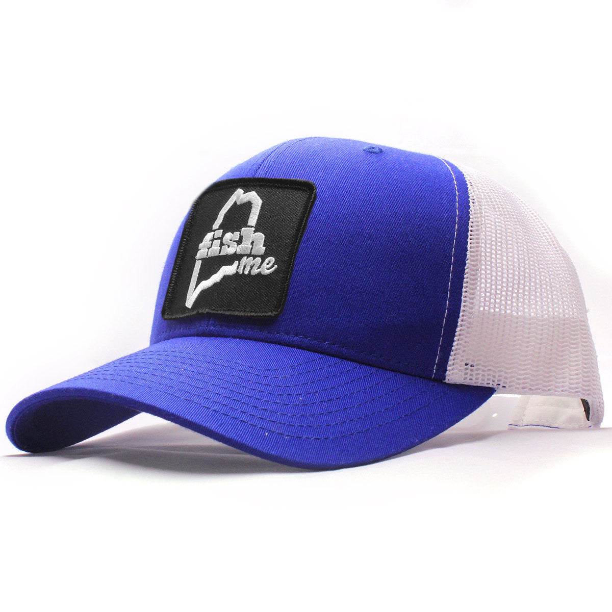 3be515c04f9a7d FishME Patch Trucker Hat - LiveME