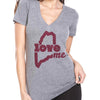 Womens LoveME V-Neck T-shirt