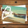 Maine SurfME Postcard Summer Session (front)
