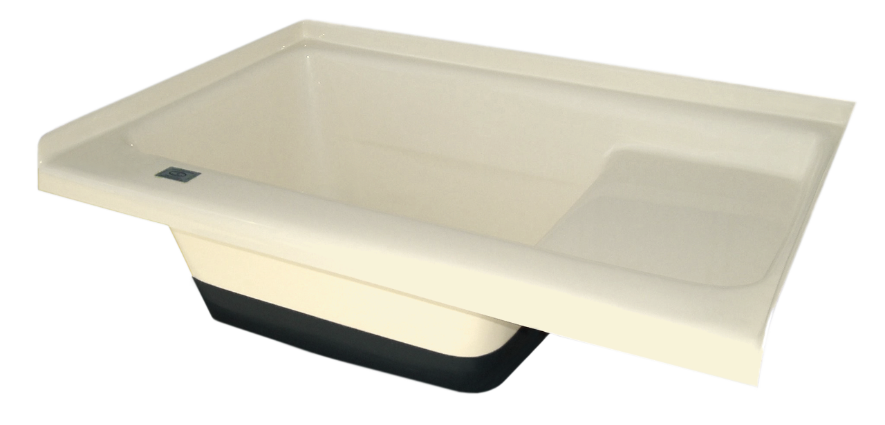 Sit in Step Tub Left Hand Drain TU500LH (00473) Colonial White