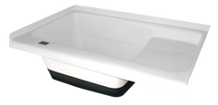 Sit in Step Tub Left Hand Drain TU500LH (00474) Polar White