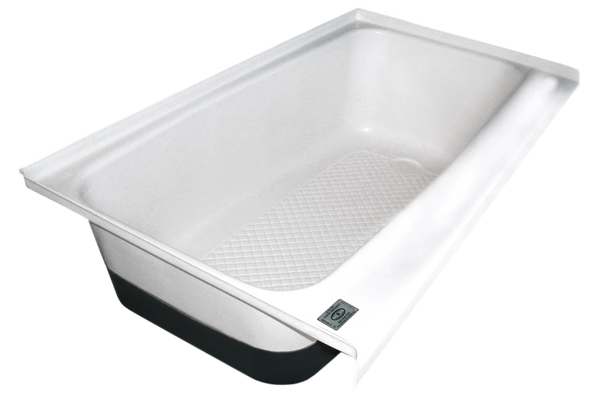 RV Bath tub Right Hand Drain TU700RH (00484) Polar White