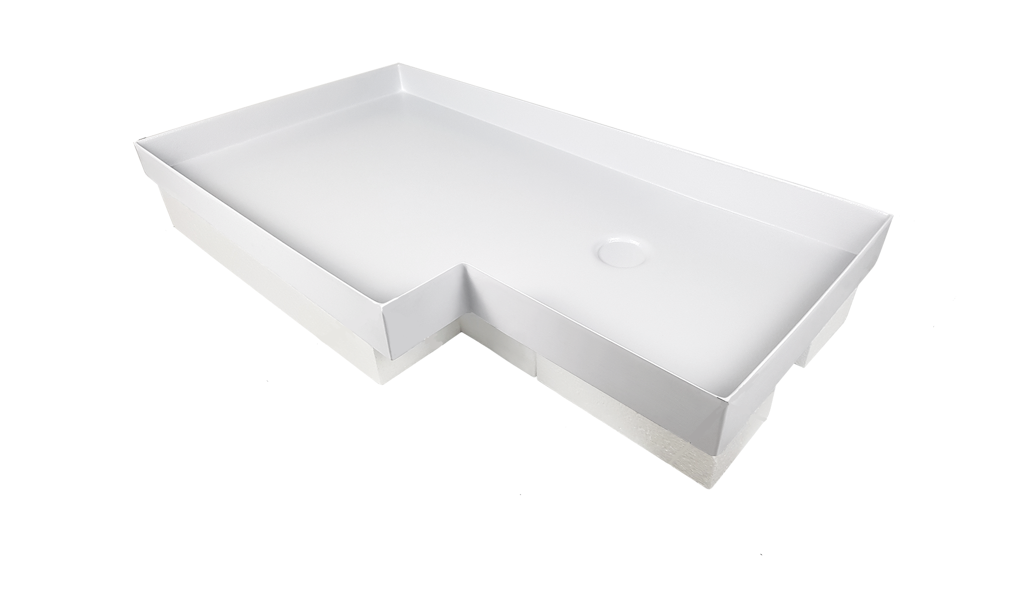 Shower Pan SP500 (14066) Polar White