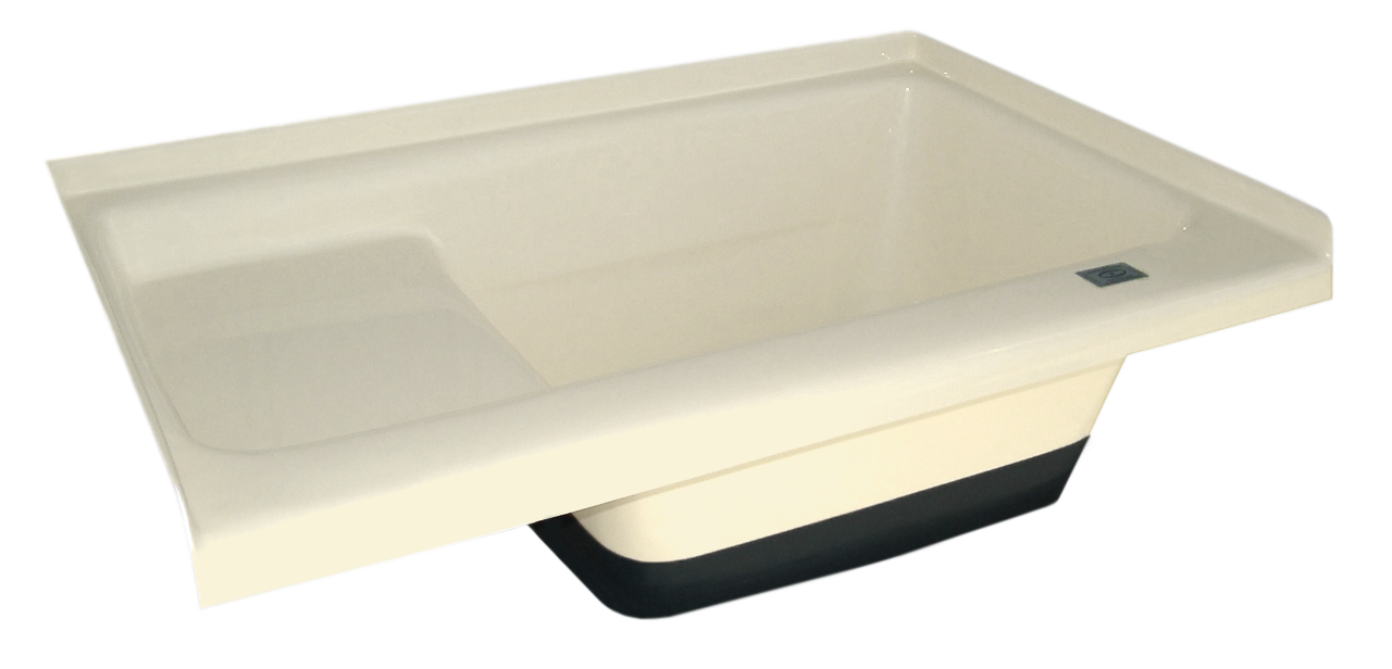 Sit in Step Tub Right Hand Drain TU500RH (00475) Colonial White