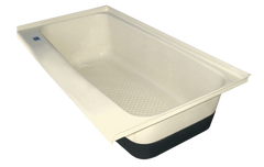 RV Bath Tub Left Hand Drain TU600LH (00477) Colonial White