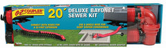 EZ Coupler Deluxe Bayonet Sewer Hose Kit, 20′ - by Valterra - The RV Parts House