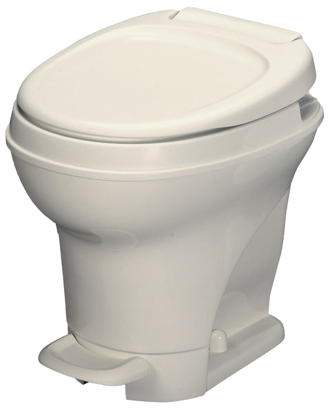 RV Toilet | Thetford Aqua-Magic V in Bone and White | High Profile - The RV Parts House