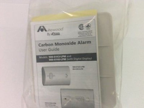 Atwood 32702 Carbon Monoxide Gas Alarm With Digital Screen Atwood 32702