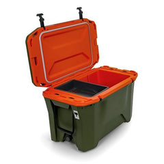 Cooler, Currituck, 50 Quart, Olive / Orange (51704)