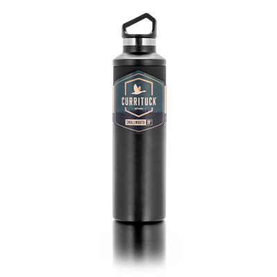 Currituck, SS Bottle, 20oz, Small Mouth, Charcoal (51942)