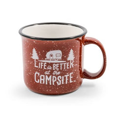 Life is Better at the Campsite Mug, Ceramic (53235)