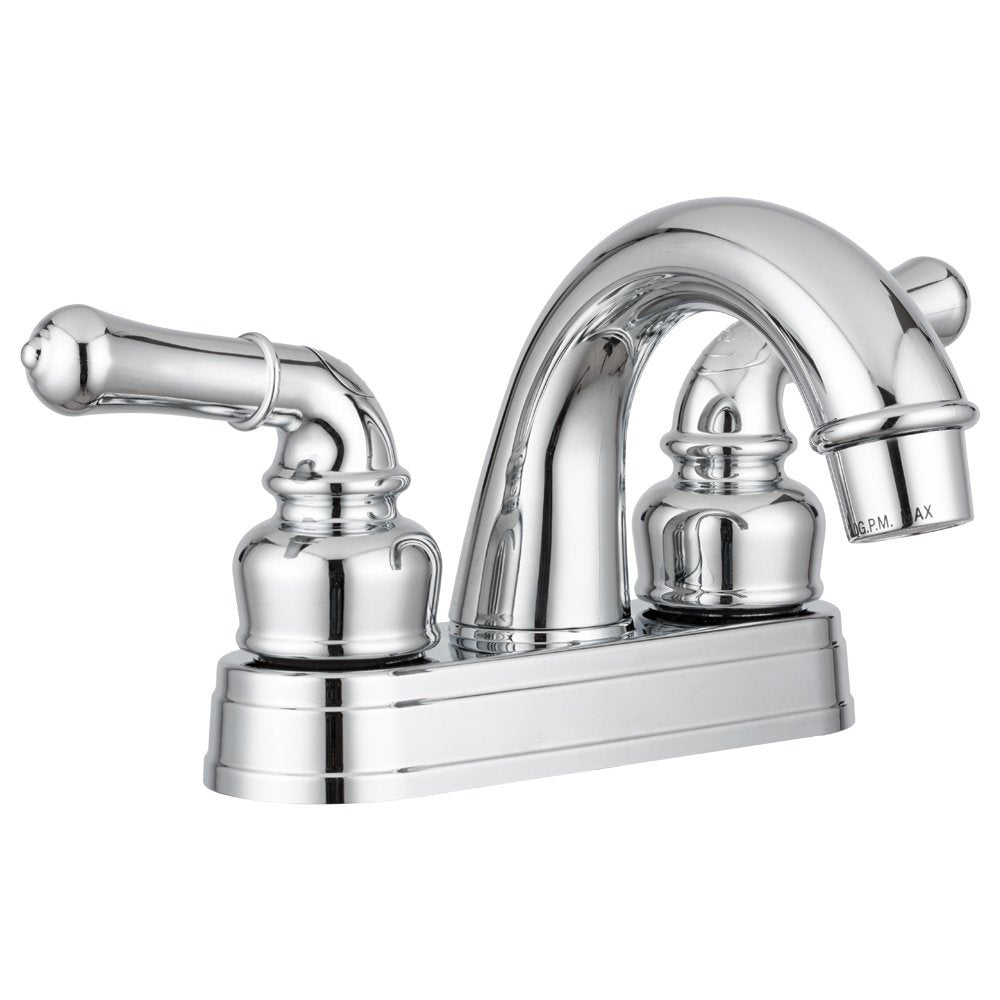 DURA Faucet Classical Arc Spout RV Lavatory Faucet in Chrome