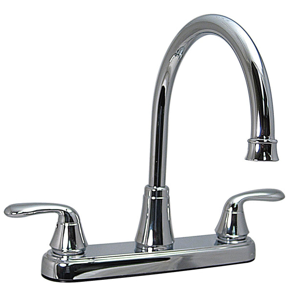 "Phoenix 8"" Premium High-Arc Two Handle Kitchen Faucet"
