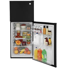 GPV10FGNBB - GE 9.8 Cu. Ft. 12 Volt DC Power Top-Freezer Refrigerator - Black direct replacement for the DM2852 but 12 volt only - The RV Parts House