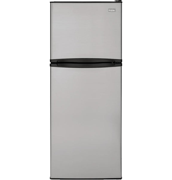 Haier 9.8 Cu. Ft. Top Freezer Refrigerator - Stainless HA10TG21SS