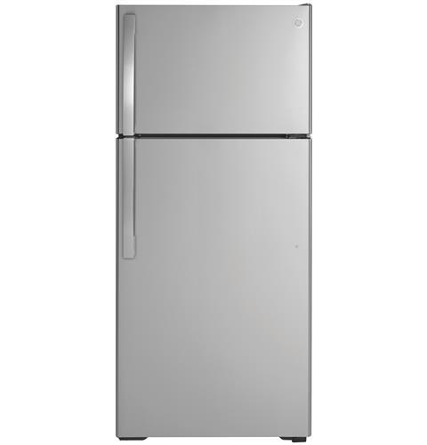 GTS17GSNRSS - GE® 16.6 Cu. Ft. Top-Freezer Refrigerator - Stainless - The RV Parts House