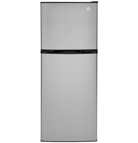 GE 9.8 Cu. Ft. 12 Volt DC Power Top-Freezer Refrigerator - Stainless direct replacement for the DM2852 but 12 volt only