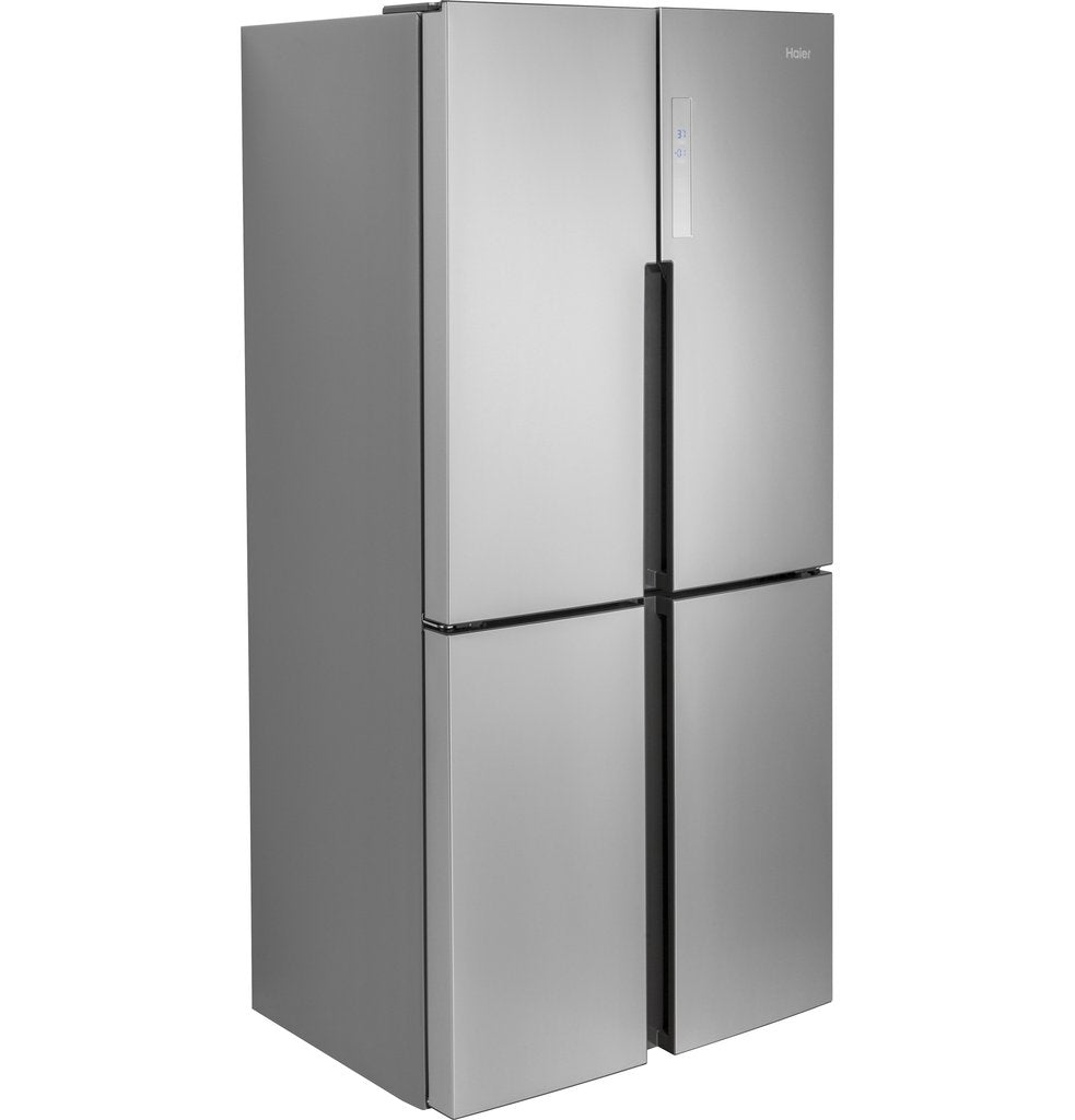 Haier 16.4 Cu. Ft. Quad Door Refrigerator Quad Door