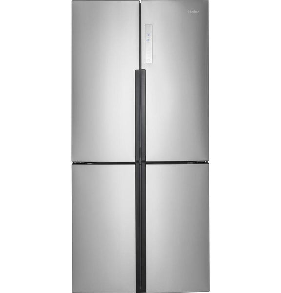 Haier 16.4 Cu. Ft. Quad Door Refrigerator