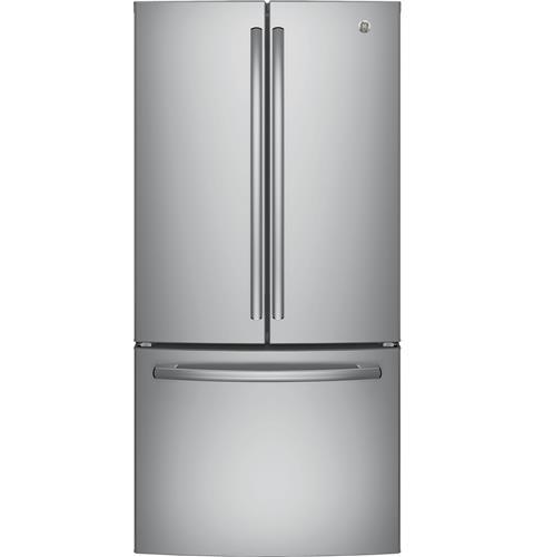 GWE19JSLSS - GE® 18.6 Cu. Ft. Counter-Depth French-Door Refrigerator