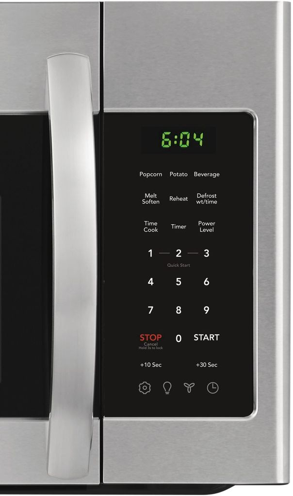 Frigidaire 1.8 Cu. Ft. Over-The-Range Microwave Stainless Steel - Control Panel