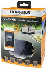 The vueSMART Trailer Camera is the smart way to see behind your trailer. The only wireless trailer camera that installs in minutes.