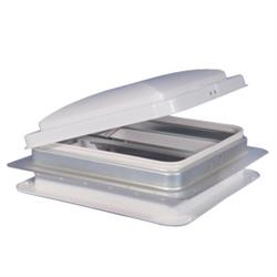 Roof Vent; Manual Opening; For 14 Inch x 14 Inch; Fits Roof Thickness From 1 Inch To 2-9/16 Inch (	V071101-C1G1) - The RV Parts House