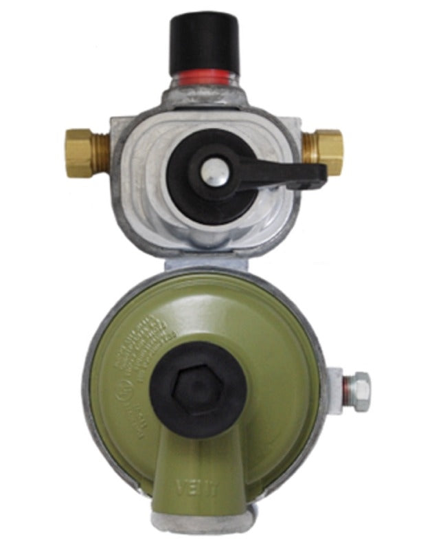 Excelaflo High Capacity Auto change Regulator(MEGR-253HP) - The RV Parts House
