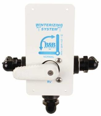 Fresh Water By-Pass Valve; Winterizing By-Pass (DVW-1-A) - The RV Parts House