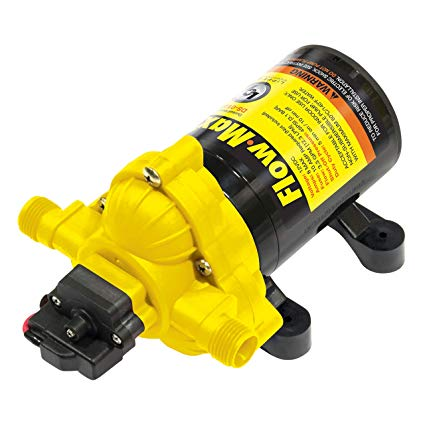 RV Water Pump 12 VOLT Flow Max by Lippert 689052 - The RV Parts House