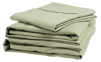Denver Mattress Sateen Queen Sheet Set Sage (343508)