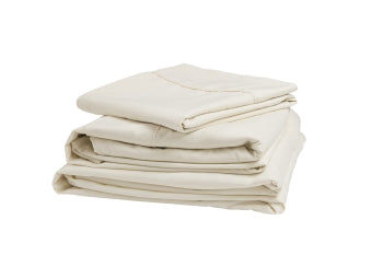Denver Mattress Sateen King Sheet Set Ivory 343502