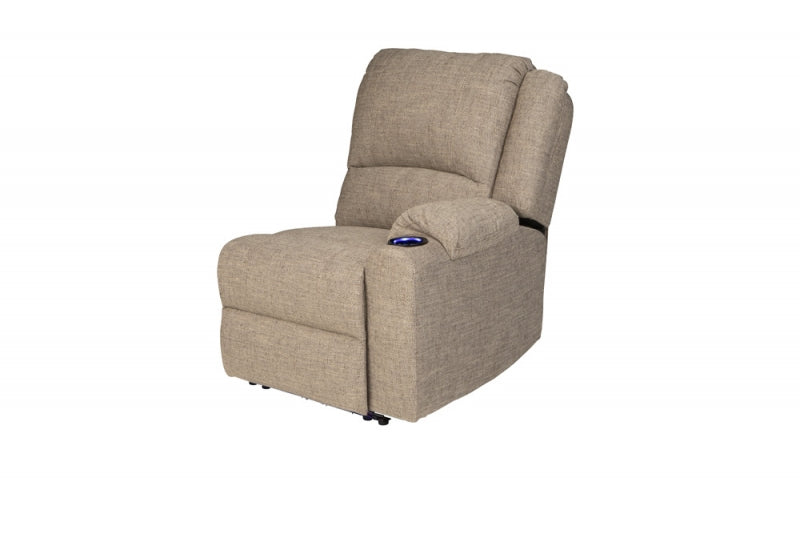 Left Arm Recliner Seismic Cobble Creek (759239) - The RV Parts House
