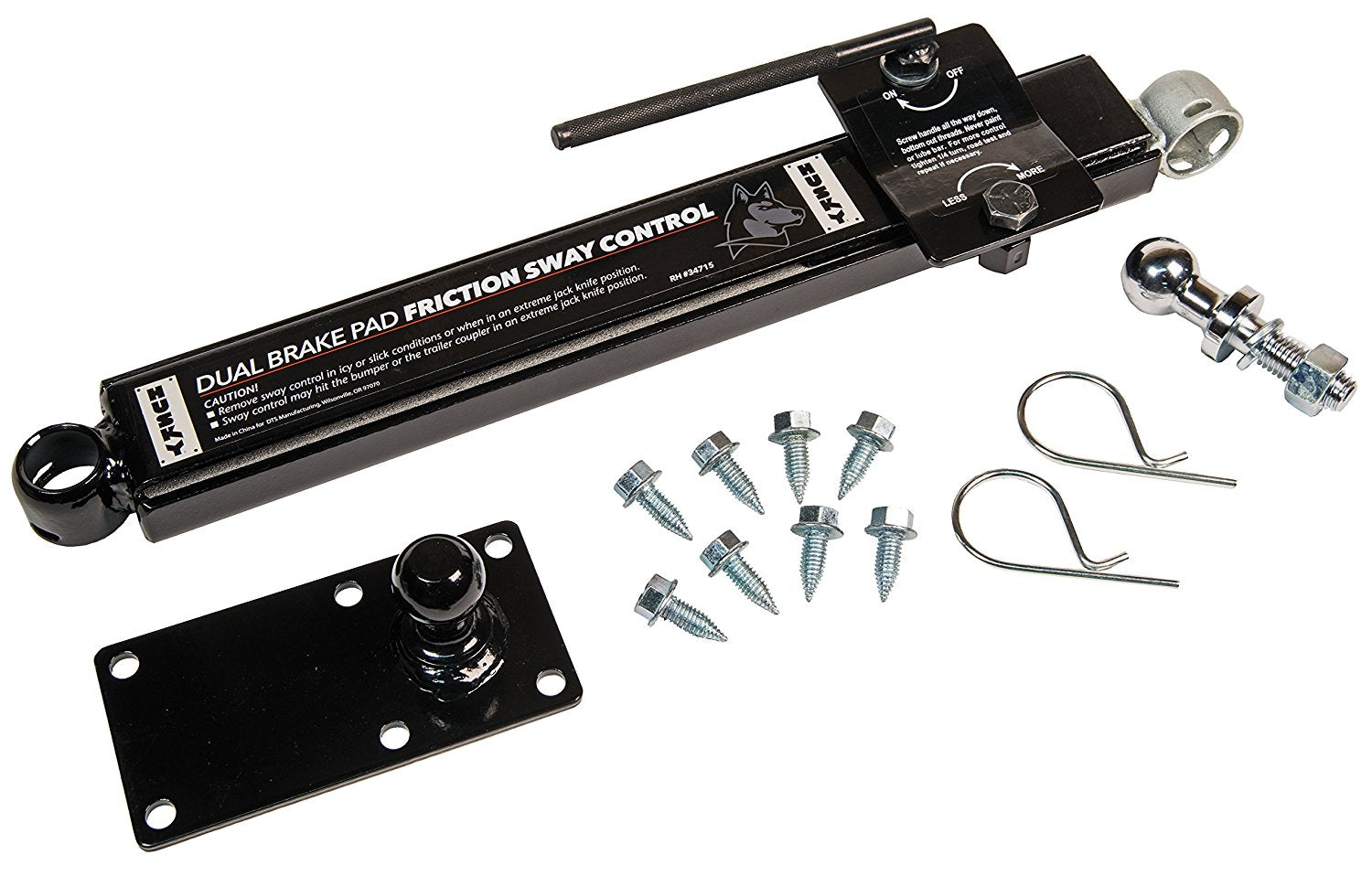 Husky Adjustable Sway Control Kit (34715) - The RV Parts House