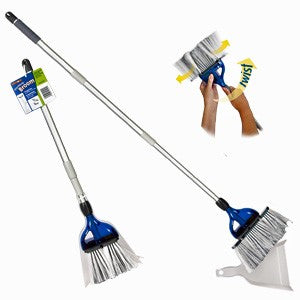 Thetford StorMate Expanding Broom/Dustpan - The RV Parts House