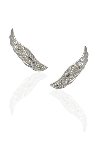 Wing Crawler Earrings