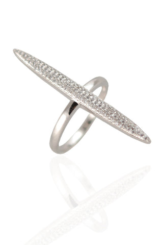 Silver Spear Ring