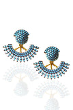Turquoise Flare Earrings