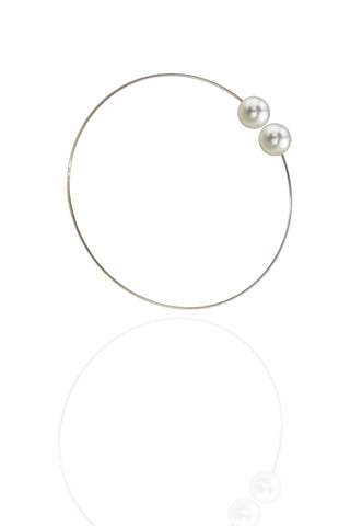 Five Pearl Duo Bangles