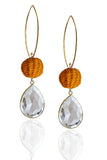 Mandarine Pepita Earrings