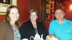 High Tea with Mom and Dad