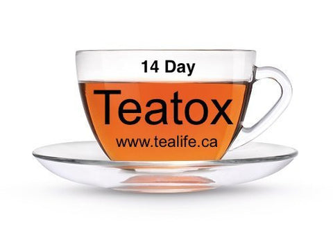 14 Day Teatox Wellness Tea - TeaLife
