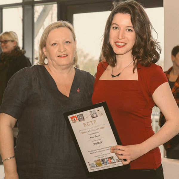 Alice Barnes wins National Association of Jewellers Award