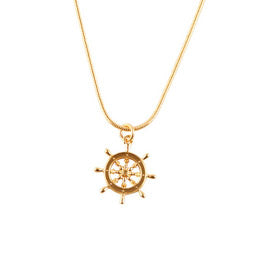 Captains Wheel Necklace