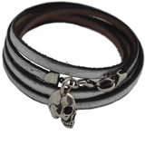 Leather Wrap Bracelet - The Wildness Jewellery
