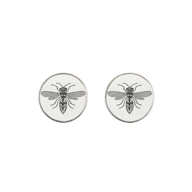 The Wasp Stud Earrings